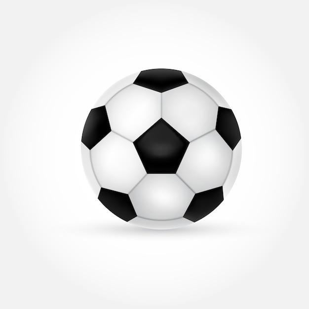 Ilustração da bola de futebol Vetor grátis