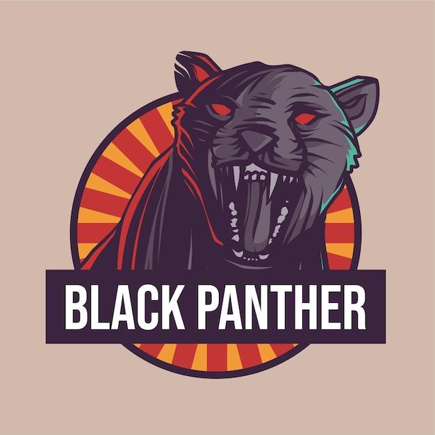 Ilustração da pantera negra Vetor Premium