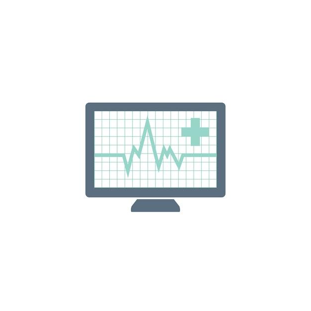 Ilustração da taxa de pulso Vetor grátis