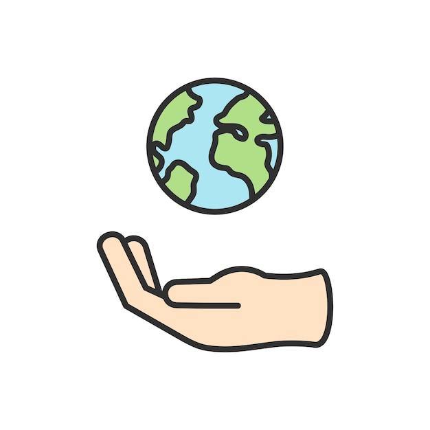 Ilustração, de, ambiental, vetorial Vetor grátis