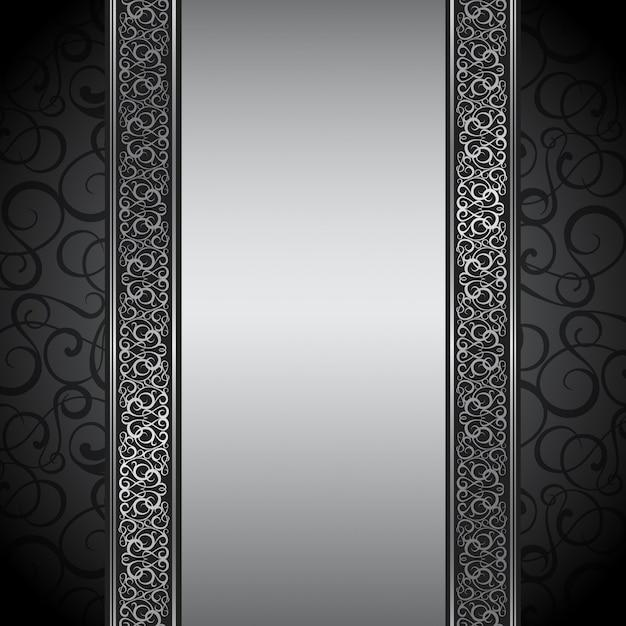 Ilustração de borda decorativa. Vetor grátis