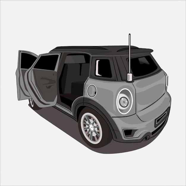 Ilustração de carro design plano Vetor Premium