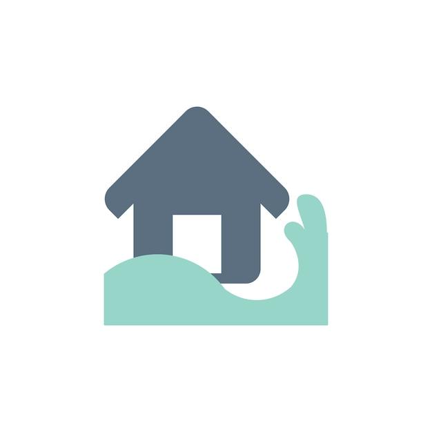 Ilustração, de, casa, seguro Vetor grátis