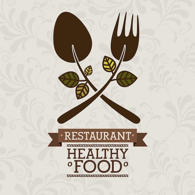 Ilustração de comida Vetor Premium