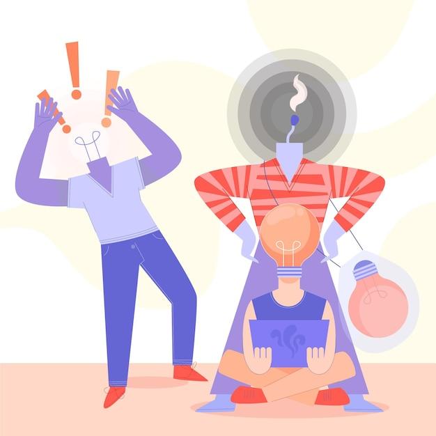 Ilustração de direitos autorais de plágio Vetor grátis