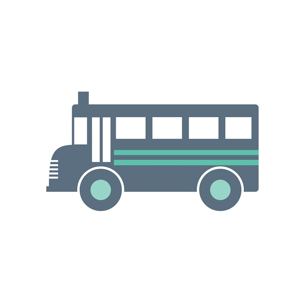 Ilustração, de, escola, autocarro Vetor grátis