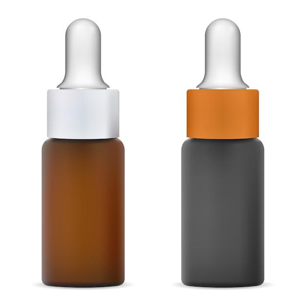 Ilustração de frasco conta-gotas Vetor Premium