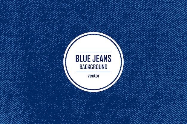 Ilustração de fundo de textura de jeans Vetor Premium