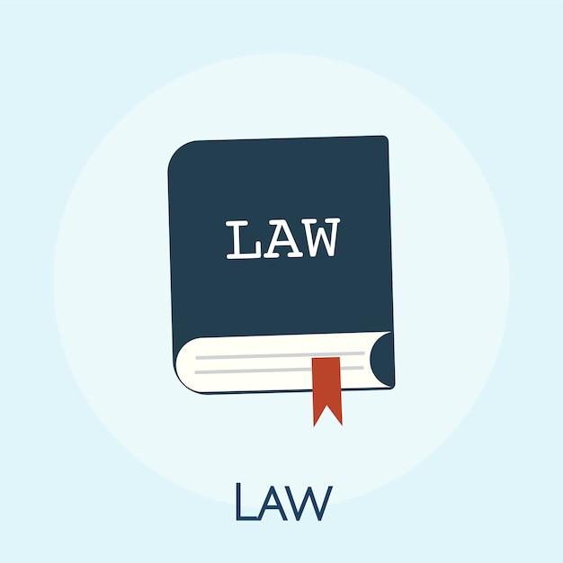 Ilustração, de, lei, conceito Vetor grátis