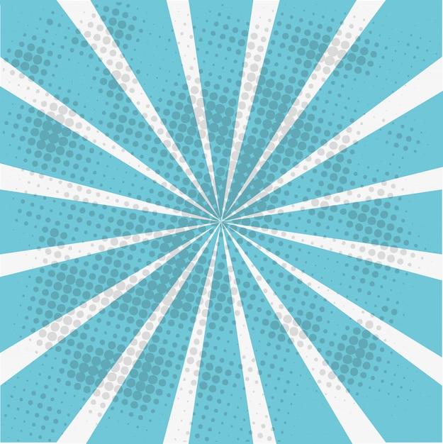 Ilustração de papel de parede azul Vetor grátis