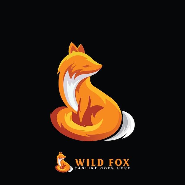 Ilustração de raposa Vetor Premium
