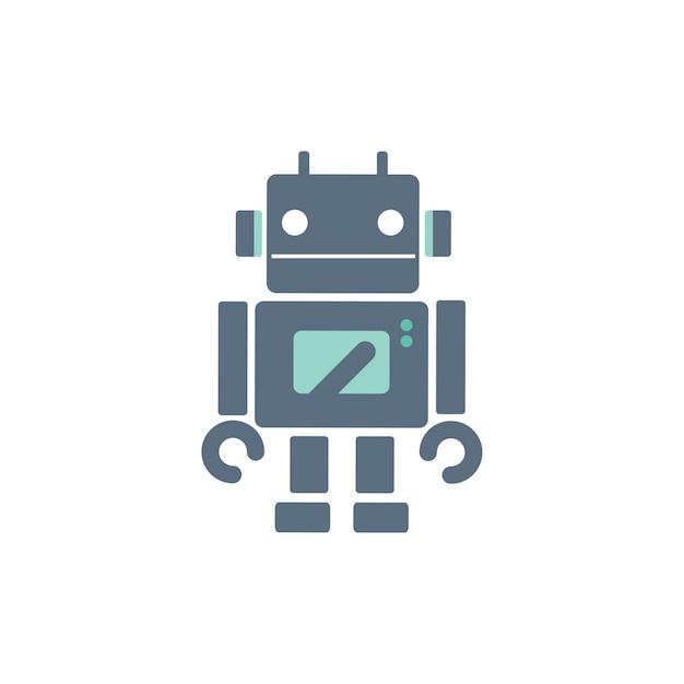 Ilustração, de, robô Vetor grátis