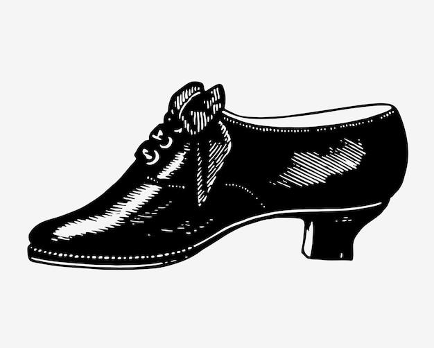 Ilustração de sapatos vintage Vetor grátis