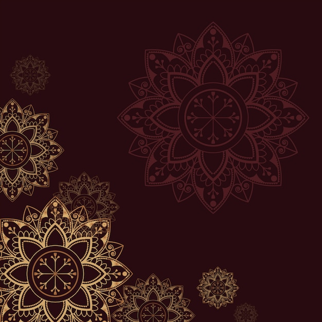 Ilustração do cartão de eid Vetor grátis