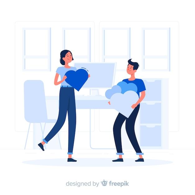 Ilustração do conceito de apreciação Vetor grátis