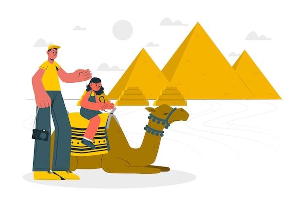 Ilustração do conceito de el cairo Vetor grátis