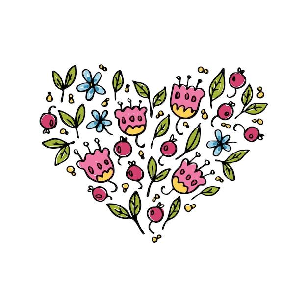 Ilustração do coração Vetor grátis