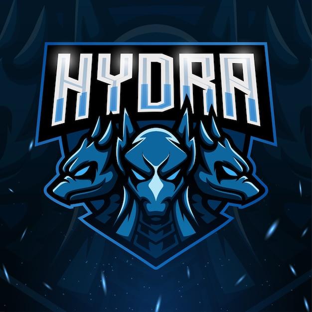 Ilustração do mascote hydra Vetor Premium