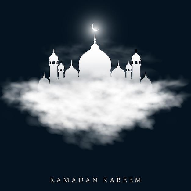 Ilustração do vetor para o feriado de ramadan kareem. Vetor Premium
