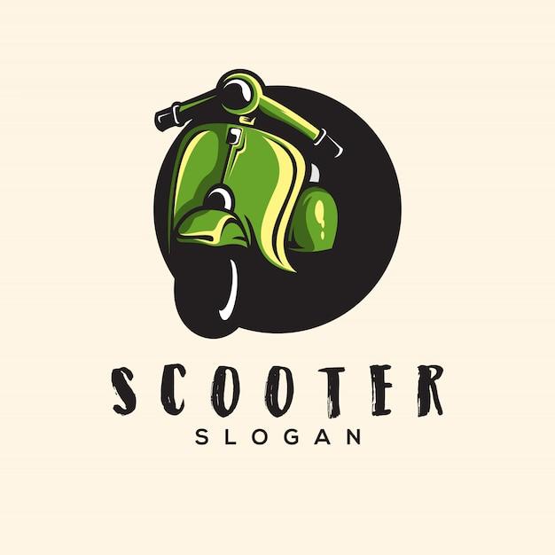 Ilustração impressionante do logotipo do