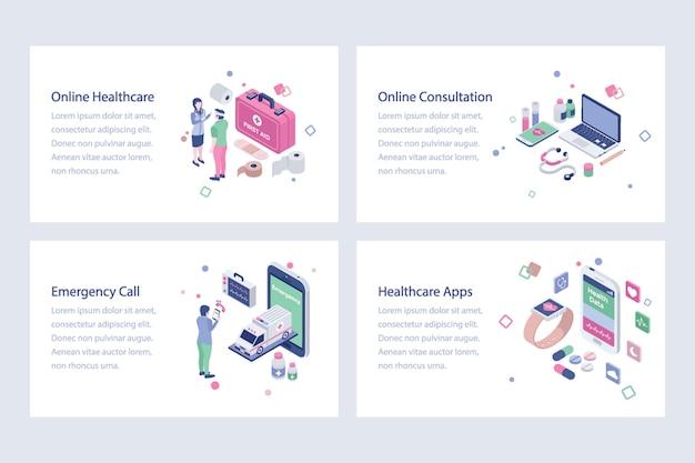 Ilustração médica e de saúde vetores Vetor Premium