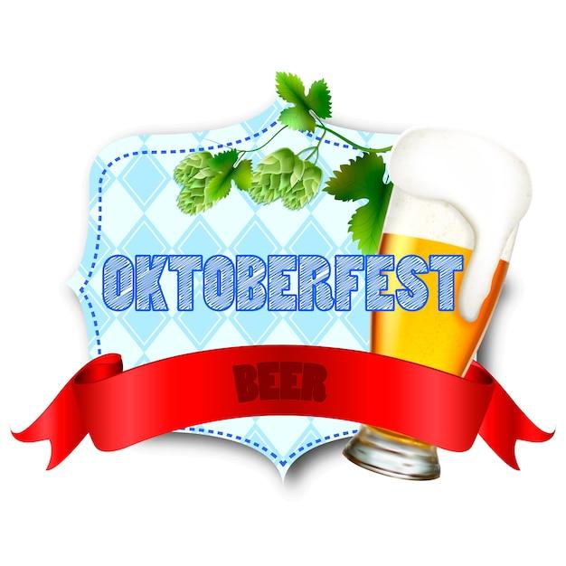 Ilustração para o festival oktoberfes Vetor Premium