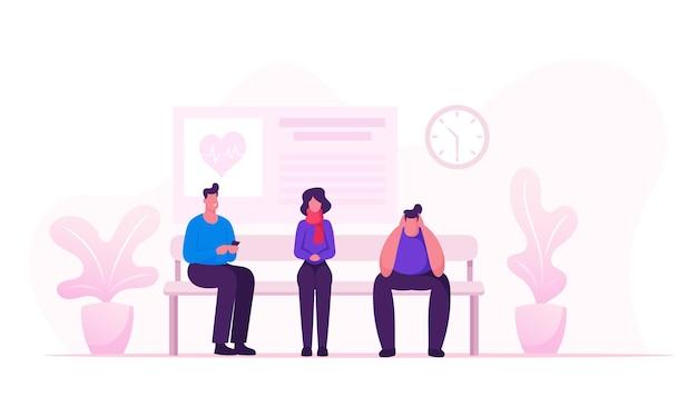 Ilustração plana dos desenhos animados do conceito de cuidados de saúde e medicina Vetor Premium