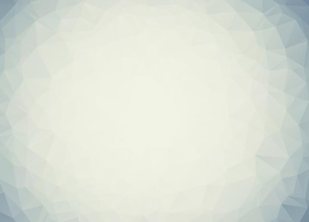 Ilustração poligonal cinza, que consistem em triângulos. Vetor Premium