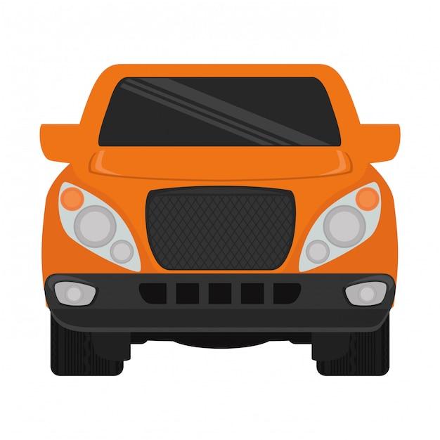 Imagem de clip-art do carro Vetor grátis