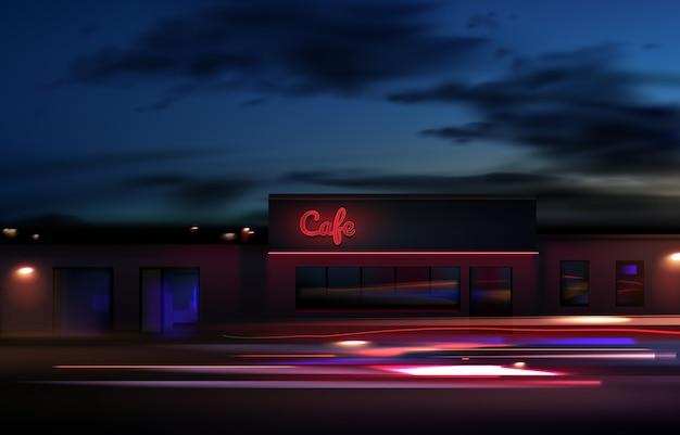 Imagem de trilhas de luz coloridas com efeito de desfoque de movimento, exposição de longo tempo. isolado no fundo Vetor Premium
