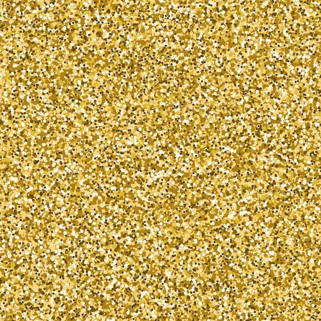 Imagem vetorial de glitter dourado texturizado fundo Vetor Premium