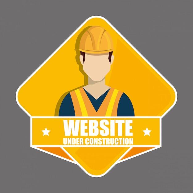 Indústria da construção e ferramentas Vetor grátis