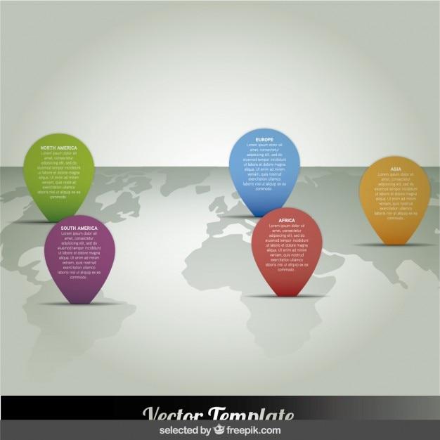 Infográfico demográfico Vetor grátis