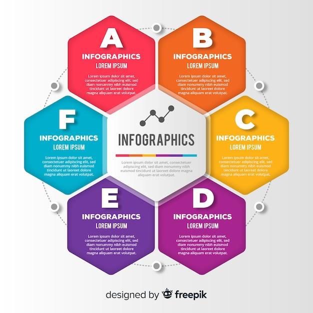 Infográficos Vetor grátis