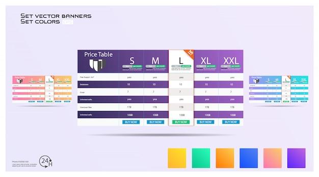 Interface para o site Vetor Premium