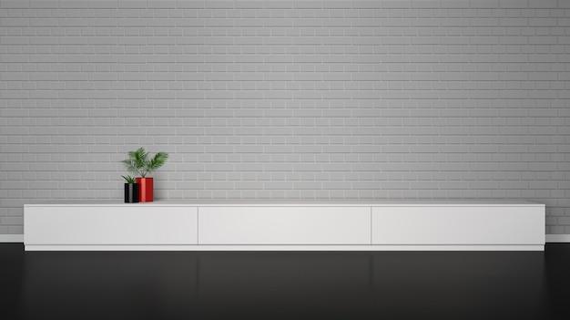 Interior minimalista Vetor grátis