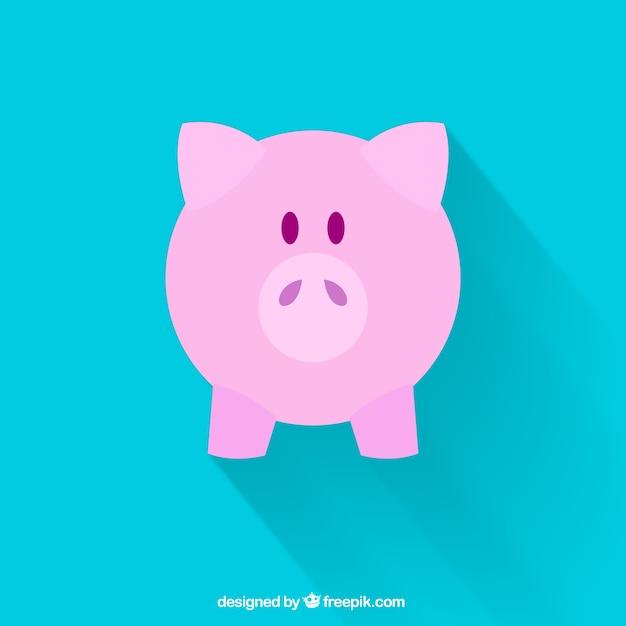 banco de jardim vetor:Free Vector Piggy Bank