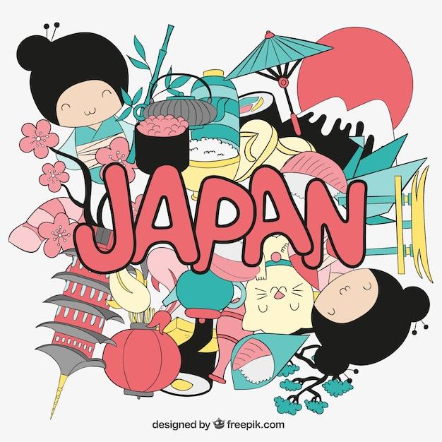 Japão ilustração Vetor grátis