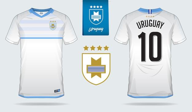 1c50e317f73b9 Jérsei de futebol do uruguai ou modelo de kit de futebol