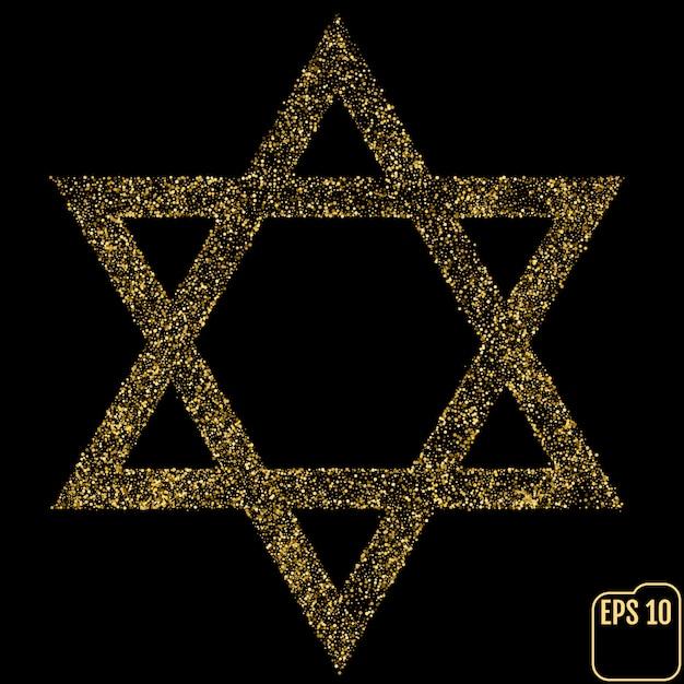 Judaísmo david Vetor Premium