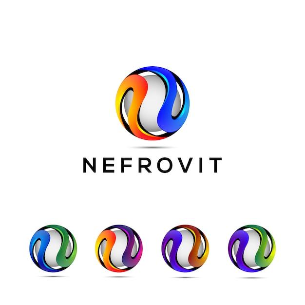 Letra n Vetor Premium