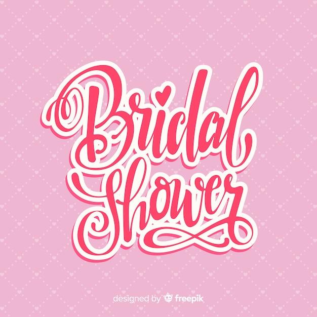 Letras de casamento Vetor grátis
