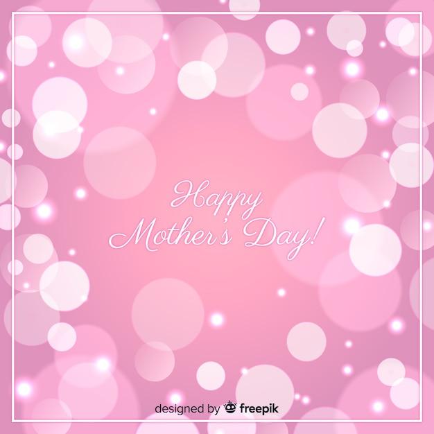 Linda feliz dia das mães cartão Vetor grátis