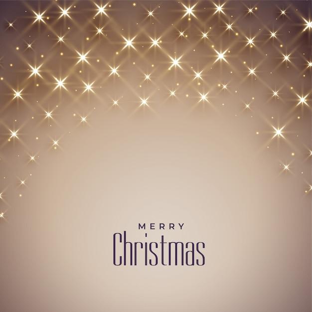 Lindo fundo brilhante para feliz natal Vetor grátis