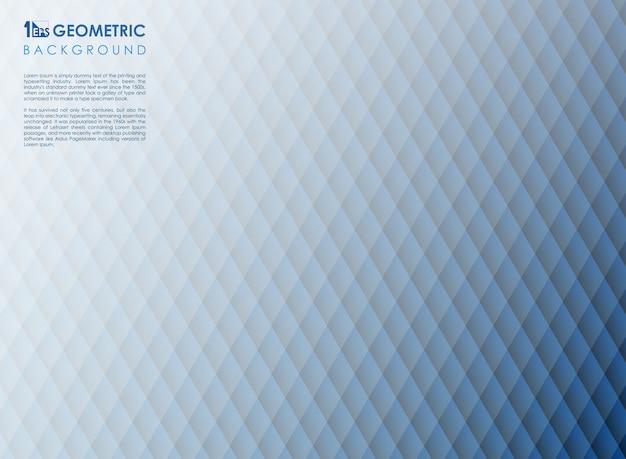 Linha geométrica abstrata da listra fundo geométrico azul, Vetor Premium