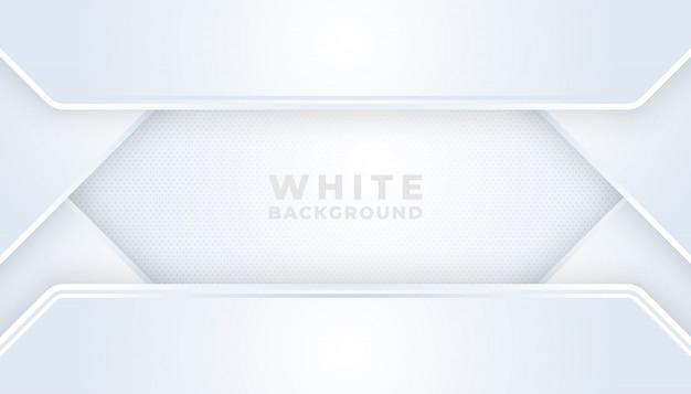 Linha moderna abstrata gradiente branco e cinza backgrounds Vetor Premium