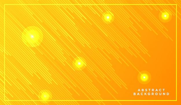 Linhas de listras diagonais caindo com luz brilhante Vetor Premium
