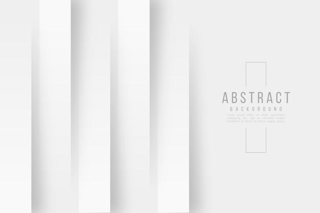 Linhas verticais 3d estilo de papel de fundo Vetor grátis