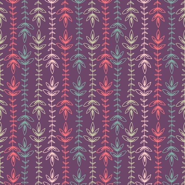 Listras de fundo sem emenda. design de impressão padrão têxtil. étnico padrão sem emenda com listras coloridas. Vetor Premium