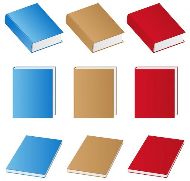Livros Vetor Premium